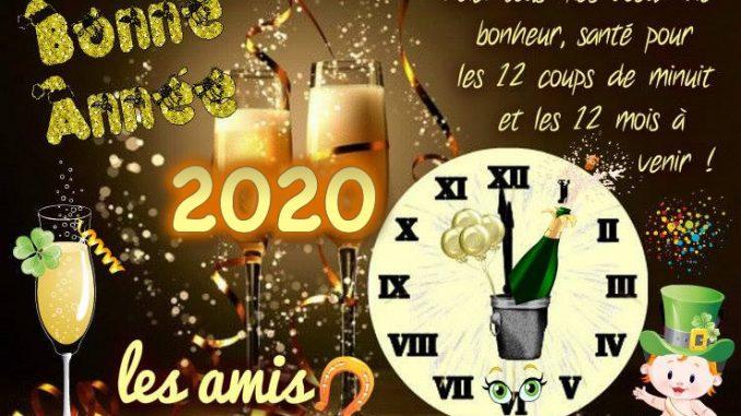 Bonne et heureuse année 2020!